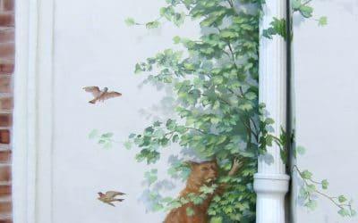 Comment faire un trompe l'œil sur un mur extérieur ?