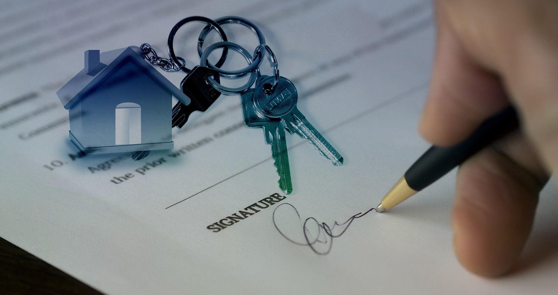 document de vente d'une maison